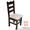 Деревянные столы и стулья под старину,  Стул Шекспир #1222680