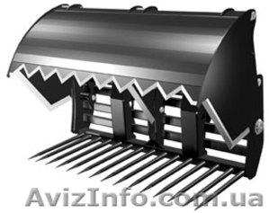 """Навесное оборудование резак для силоса  для """"Manitou"""" и """"JCB"""" - Изображение #1, Объявление #1277639"""