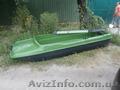 Лодка стеклопластиковая тип Романтика, новая-серый цвет