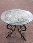 Красивый кованый столик