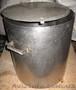 Каструля з нержавіючої сталі,  79 л,  з кришкою.